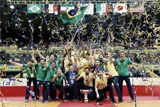 É ouro! Brasil vence Japão e fatura pentacampeonato da Copa dos Campeões de Vôlei