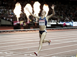 World Athletics Championships: Emma Coburn takes steeplechase gold in thrilling final