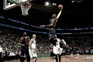 LeBron James bate recorde de Jordan, Cavaliers vencem Celtics e garantem vaga nas finais da NBA
