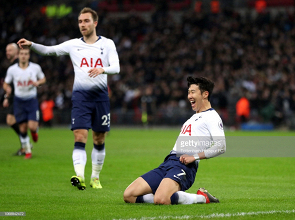 Son completes the Spurs scoring. (Photo: Getty Images/ Tottenham)
