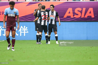 As it happened: Newcastle United defeat West Ham to clinch Premier League Asian Trophy podium