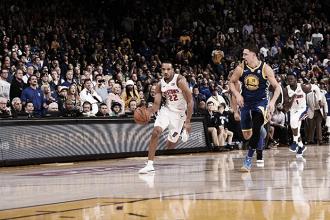 Avery Bradley comanda virada dos Pistons sobre Warriors e Detroit assume liderança do Leste