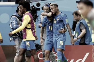 Coutinho e Neymar decidem nos acréscimos, Brasil bate Costa Rica e vence primeira na Copa