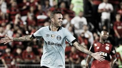 Luan marca, Grêmio bate Flamengo e assume vice-liderança do Brasileirão