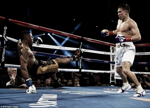 Gennady Golovkin Claims His 20th Consecutive KO In The Shape Of Monroe Jr.