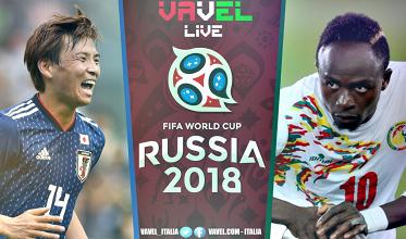Giappone-Senegal in diretta, LIVE Mondiali Russia 2018: finisce qui! 2-2 il finale e girone H riaperto!