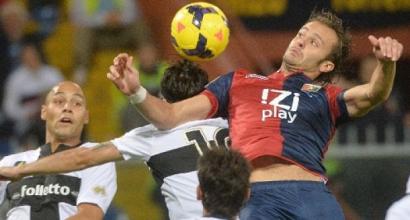 Il Genoa batte il Parma 1-0, decide Gilardino