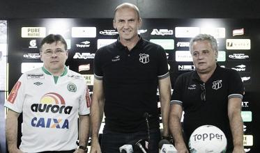 Anunciado na última semana, Gilmar Dal Pozzo é apresentado no Ceará