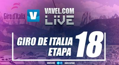 Resultado de la decimoctava etapa del Giro de Italia 2017: Van Garderen vence y los favoritos se vigilan