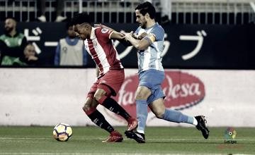 Málaga- Girona, puntuaciones del Málaga, jornada 21 de LaLiga