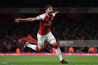 Olivier Giroud so often the silent hero at Arsenal as he chases his 100th goal for the club