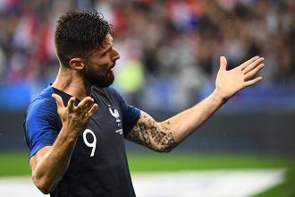 Francia, Deschamps pensa a Giroud per il Perù   www.twitter.com (@equipedefrance)