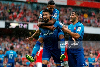 Arsenal 5-2 Benfica: Player ratings as Gunners record comfortable pre-season win