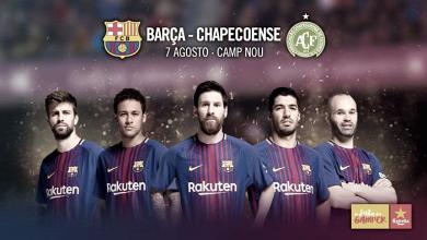 El Gamper 2017 será el siete de agosto ante el Chapecoense