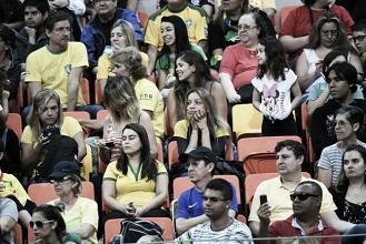 Goalball bate recorde de público e técnico brasileiro festeja: 'É emocionante demais'