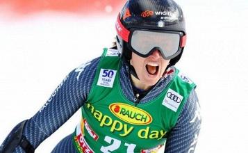 Sci Alpino, discesa libera femminile: ad Are vince la Vonn, ma la coppa di specialità è della Goggia - Trovati/Pentaphoto