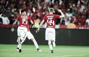 Jogo aéreo funciona ante Londrina e zagueiros garantem quarta vitória seguida do Internacional