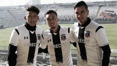 Colo Colo presentó a sus nuevos refuerzos