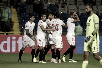 Istanbul Basaksehir - Sevilla FC: puntuaciones del Sevilla, ronda previa de Champions