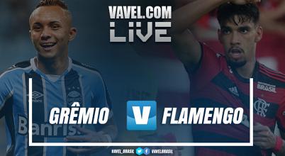 Resultado Grêmio 2 x 0 Flamengo pelo Campeonato Brasileiro