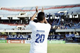 Grenddy Perozo ya entrena junto a la plantilla de Zulia FC