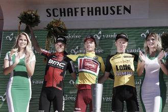 Giro di Svizzera, Simon Spilak difende la maglia gialla e vince la corsa. Ultima crono a Dennis