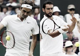 Buscando o 19° Slam, Federer desafia Cilic na final de Wimbledon