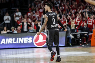 Turkish Airlines EuroLeague - Bamberg di rimonta e carattere, Olympiacos a valanga