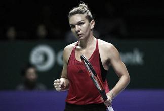 WTA Finals: Simona Halep exacts revenge over Caroline Garcia for the perfect start