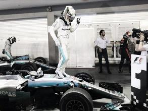 """Lewis Hamilton: """"Empezó a llover, sabía que iba a ganar"""""""