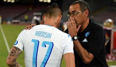 """Napoli, Hamsik: """"Pensiamo allo Scudetto, siamo sempre più vicini alla Juventus"""""""