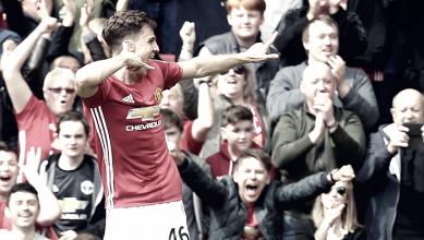 """Estreando pelo United, Harrop se diz entusiasmado com gol: """"Um sonho que virou realidade"""""""