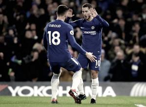 Hazard brilha, Chelsea espanta má fase e derrota West Brom