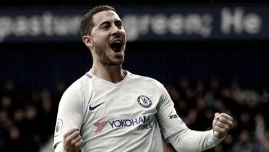 Harzard e Morata desequilibram, Chelsea goleia West Brom e afunda adversário na crise