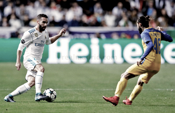 Carvajal se pierde el partido frente al Dortmund