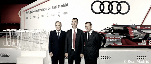 El Real Madrid recibe el habitual obsequio de Audi