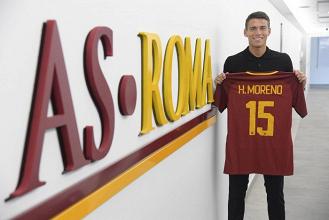 """Roma, senti Hector Moreno: """"In questi 3 mesi qui sono cresciuto"""""""