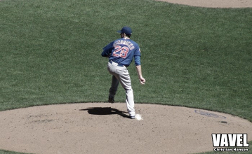 Chicago Cubs pitcher Kyle Hendricks is having a Cy Young worthy season