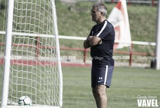 """Paco Herrera: """"Tenemos un magnífico equipo para pelear la Liga"""""""