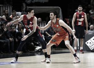 Valencia Basket logra remontar y pone fin a la racha de Baskonia