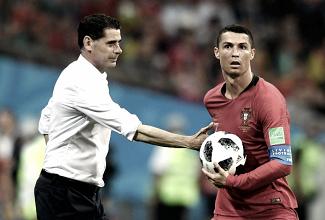 """Hierro destaca partida de Cristiano Ronaldo, mas afirma: """"Não o trocaria por nenhum dos meus"""""""