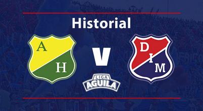 Historial: Medellín es fuerte frente al Atlético Huila