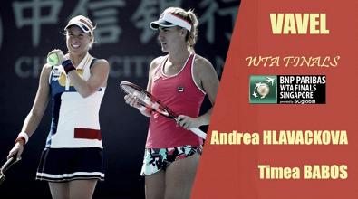 WTA Finals 2017. Andrea Hlavackova y Timea Babos: en busca de un brillante estreno