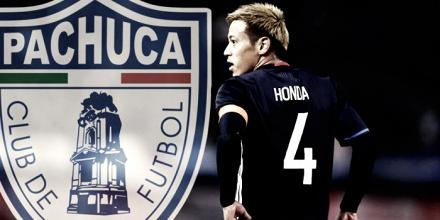 Lujo tuzo; Keisuke Honda, nuevo jugador del Pachuca