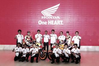 El Repsol Honda Team presenta las motos de Márquez y Pedrosa para 2018
