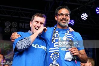 Dean Hoyle reveals he was almost not a Huddersfield fan as Terriers make dream league start