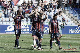 El Huesca, con todo para recibir al Lugo