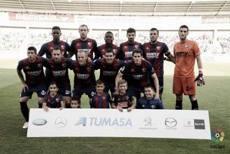 El ojo bermellón: SD Huesca, la importancia de la segunda línea