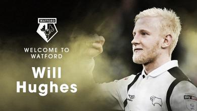 Watford hace oficial el fichaje de Will Hughes