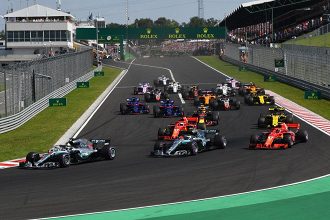 F1, Gp Ungheria - Foto F1 Twitter